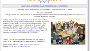 Family Forum Website