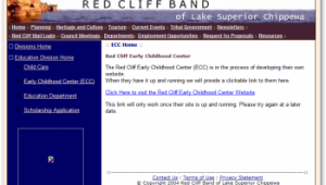 Red Cliff Website