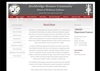 Stockbridge Munsee Community Band of Mohican Indians