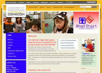 UW Oshkosh Head Start