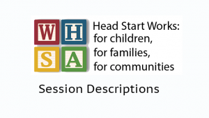2014 Session Descriptions