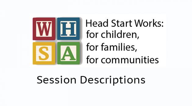 2014 Session Descriptions