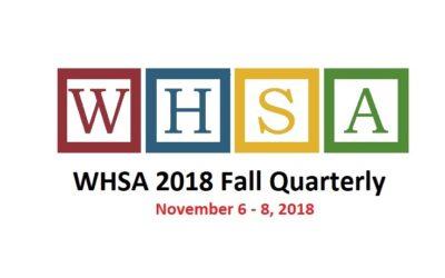 WHSA 2018 Fall Quarterly