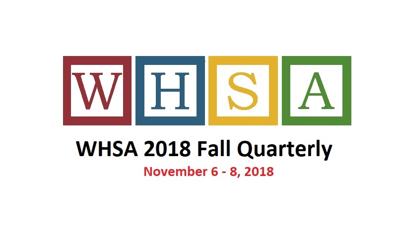 WHSA 2018 Fall Quarterly